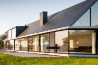25 stylish dark villa gable roof