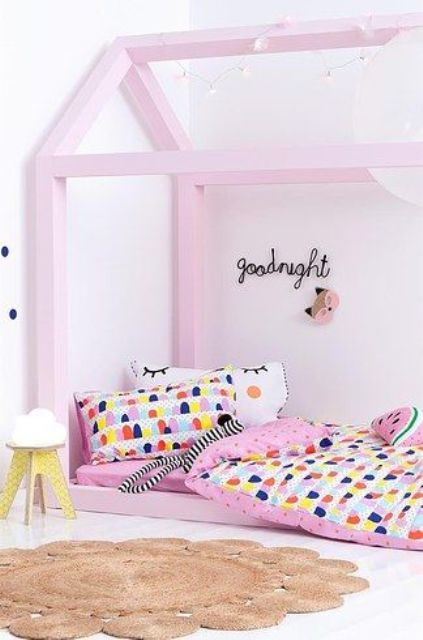 Cute super bold patterned bedding