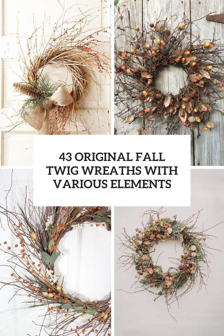 Twig Fall Wreaths Cover