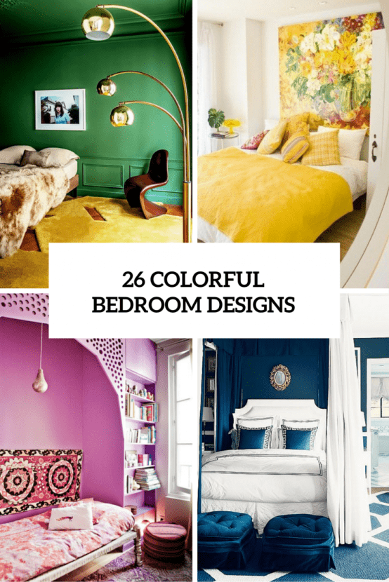 Colorful Bedroom Designs Cover