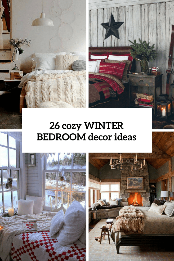 Picture of cozy winter bedroom decor ideas cover - Winter bedroom decor ...