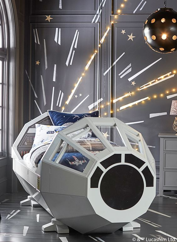 a star wars kid bed
