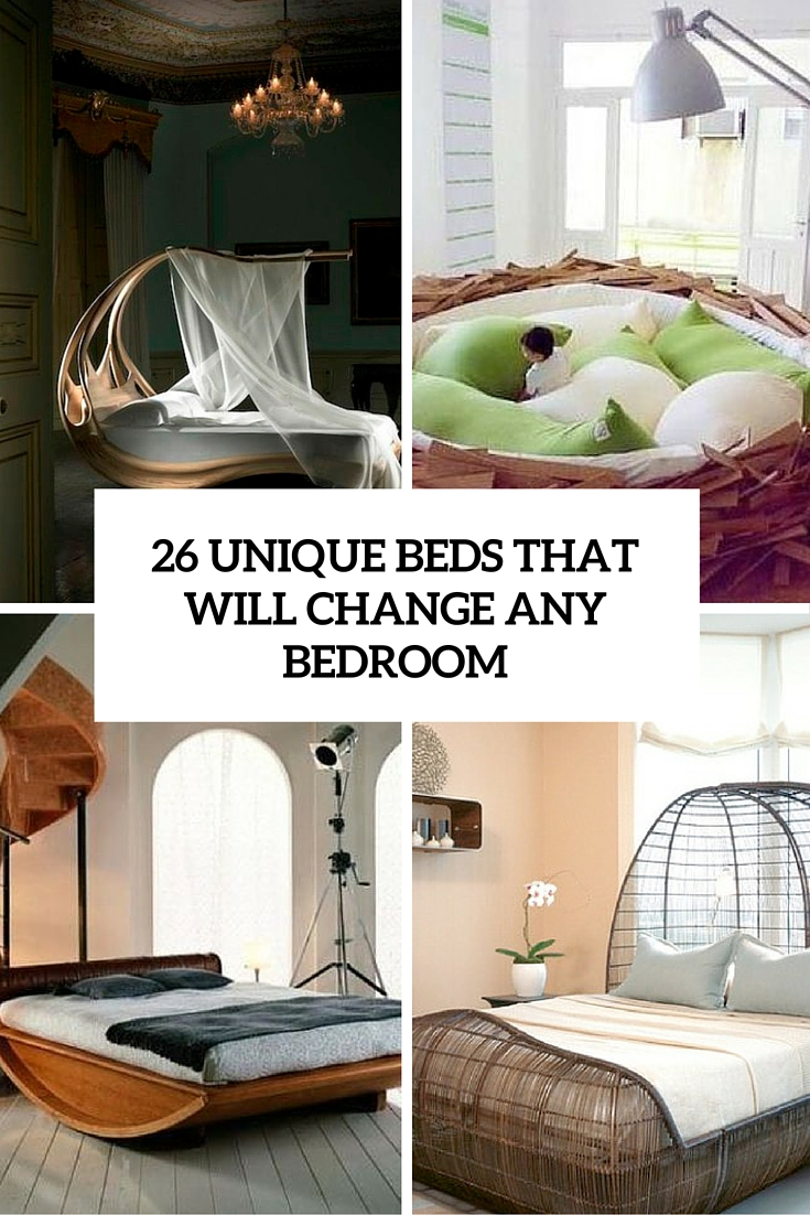 26 unique beds that will change any bedroom cover