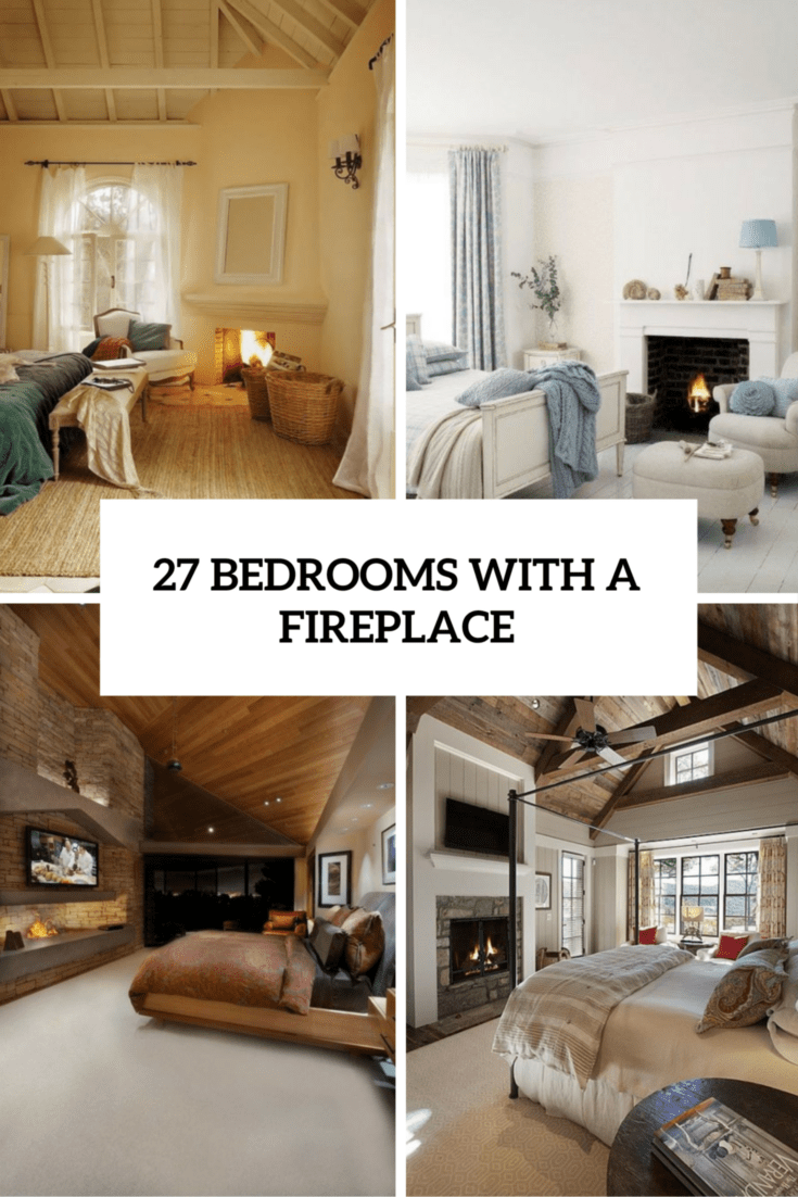 Bedrooms With A Fireplace Cover