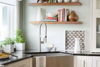 28 small kitchen corner shelving