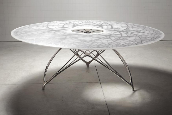 3 Amazing Tables for Modern Interior Design from Joris Laarman