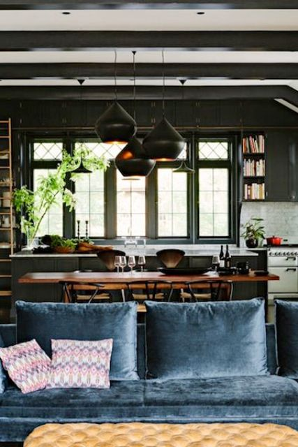 3 Tips To Unite The Kitchen And The Living Room Right