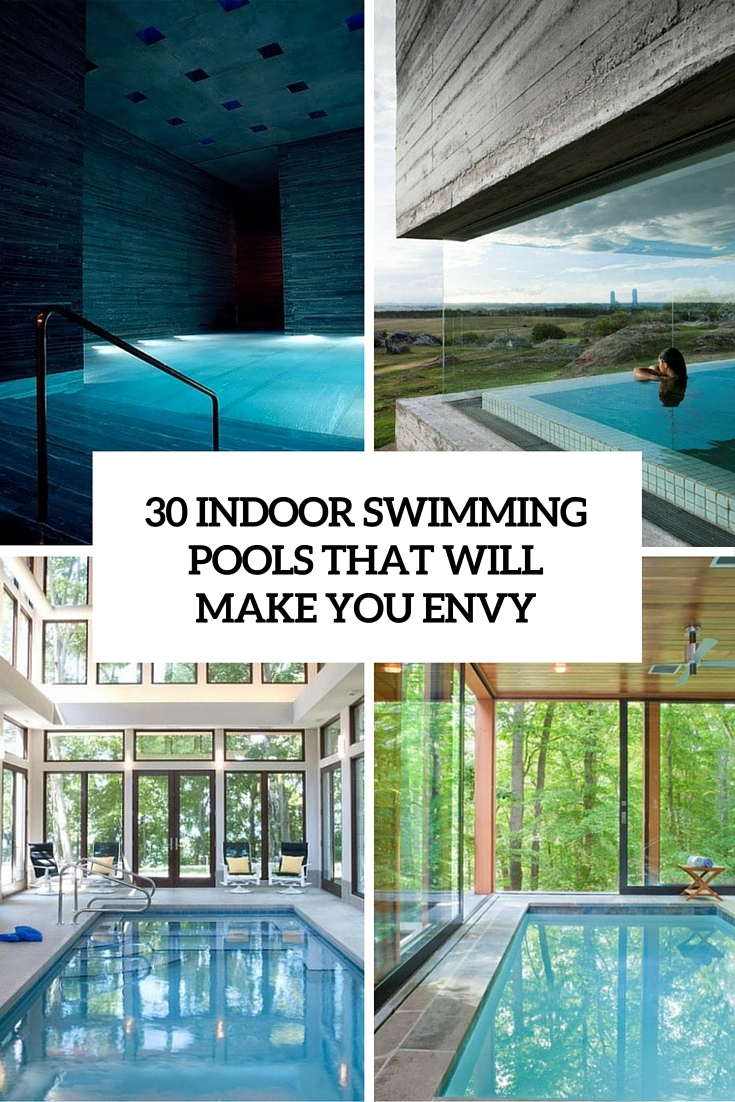 30 Indoor Swimming Pools That Will Make You Envy - DigsDigs