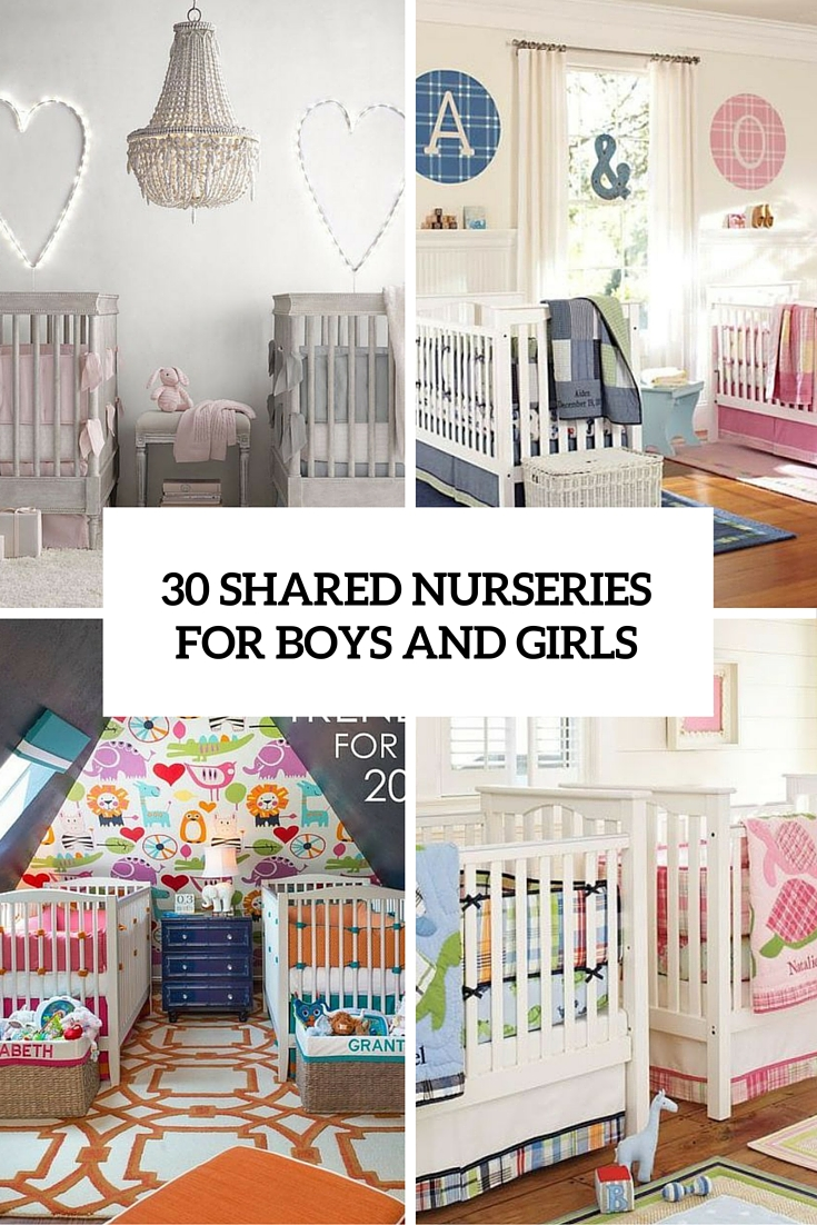 27 Cutest Shared Nurseries For Boys And Girls - DigsDigs