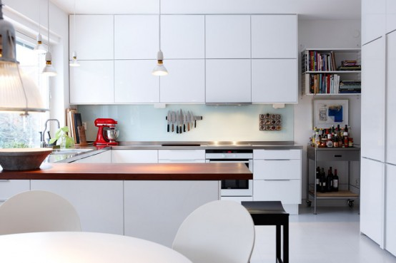 Stylish Non Typical Scandinavian House In Malmo