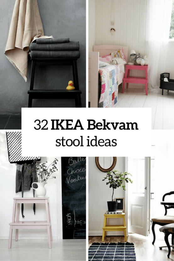 Ikea Bekvam Stool Ideas Cover