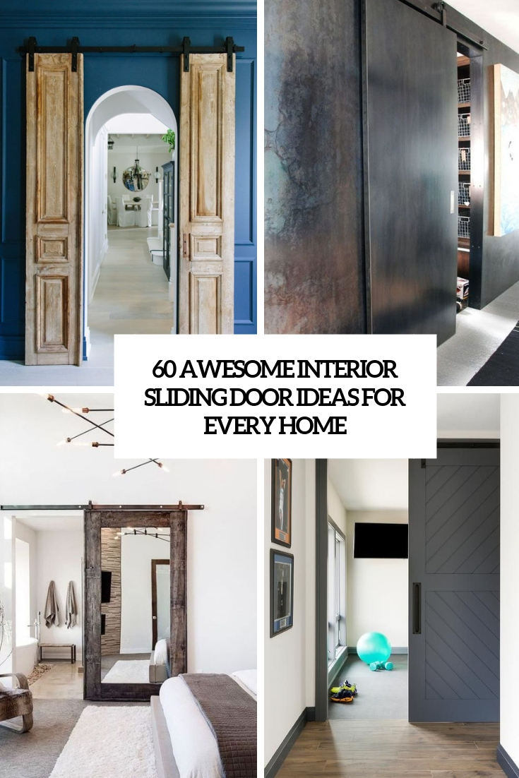 33 awesome interior sliding doors ideas cover : doors 33 - Pezcame.Com