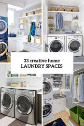 33 Home Laundry Spaces Cover