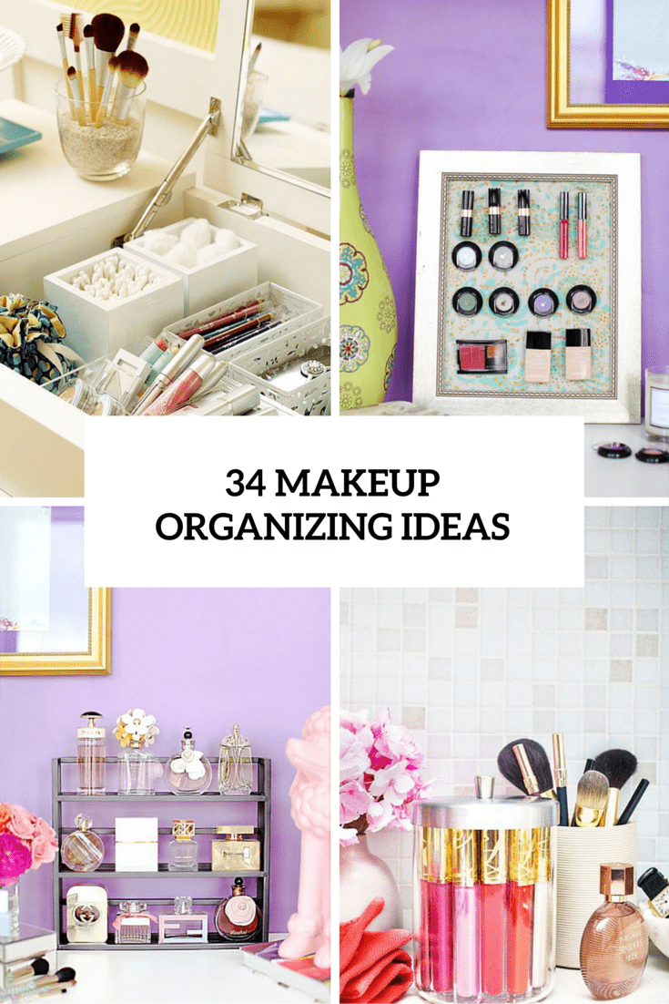 34 makeup organizing ideas cover