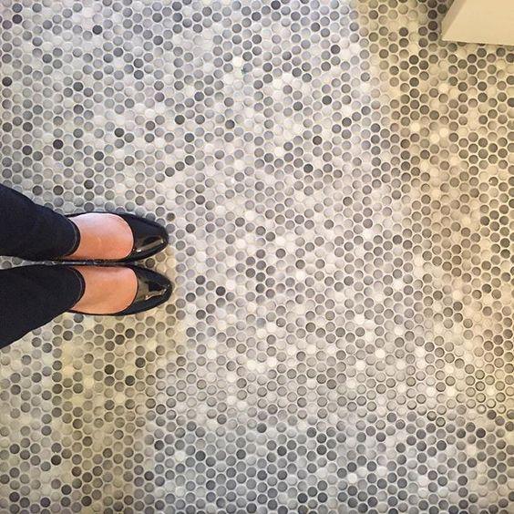 penny bathroom floor tiles
