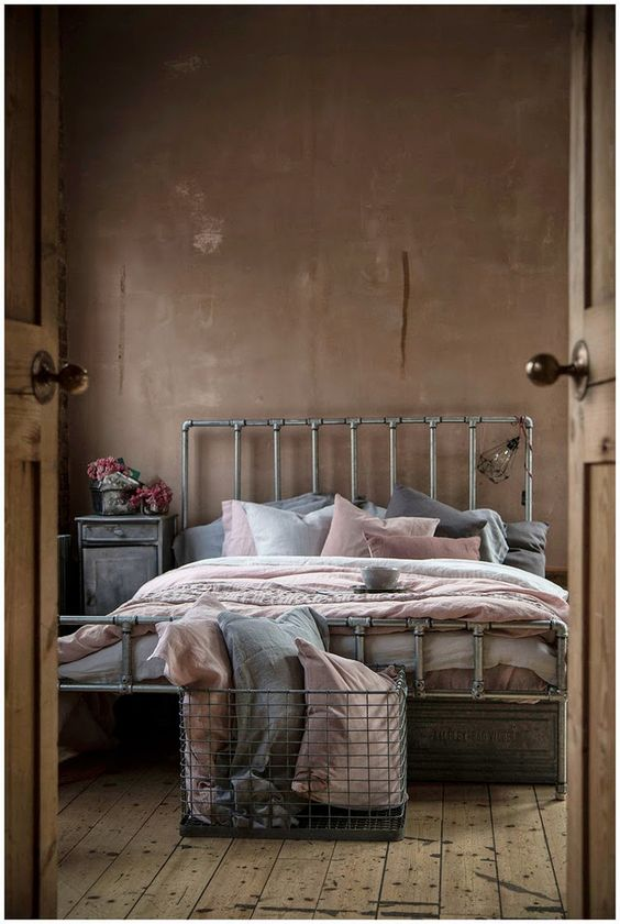 soft pastel bedding