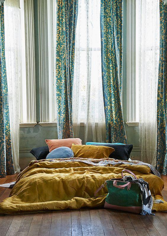 bold modern bedding