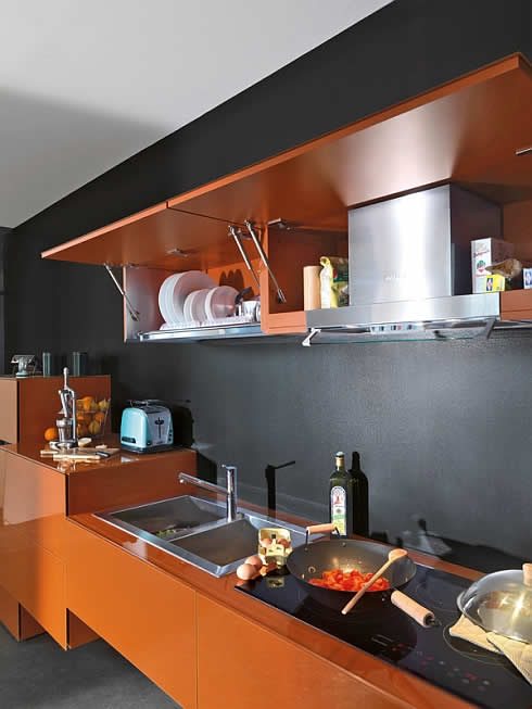 36e8 – Interesting Italian Kitchen Design by Lago
