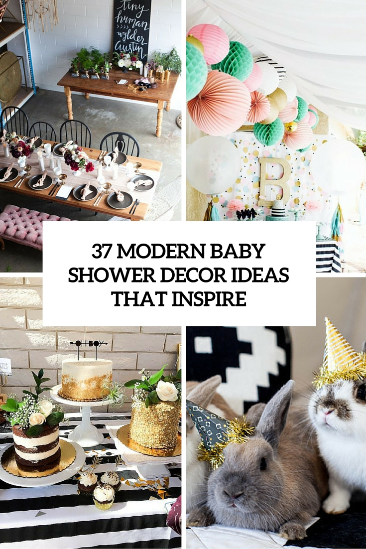 37 modern baby shower decor ideas that inspire cover