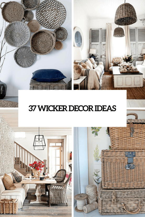 37 wicker decor ideas cover
