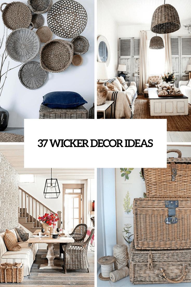 37 wicker decor ideas cover