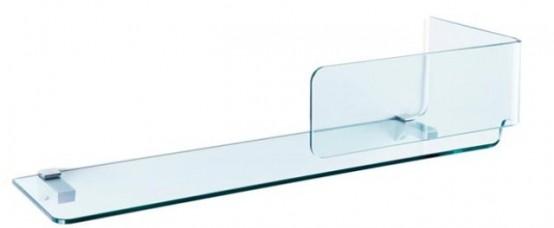 Foulard Shelves Of Transparent Glass