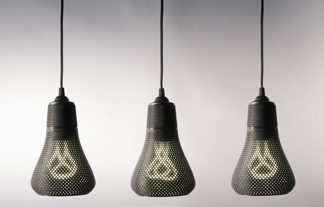 3D Printed Tailored Lampshades For Plumen Bulbs