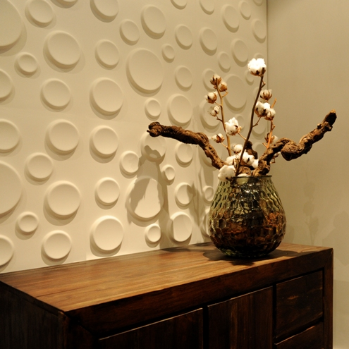 3d wall coverings to add an extra dimension to your walls for In home decor products