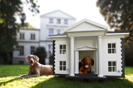 4 Amazing Luxury Dog Houses by Best Friend's HOME