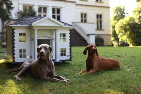 Luxury Dog Houses 4 awesome luxury dog houses