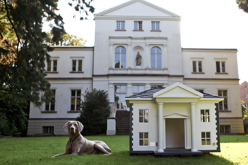 4 amazing luxury dog houses by best friend s home digsdigs - Luxury outdoor dog houses ...