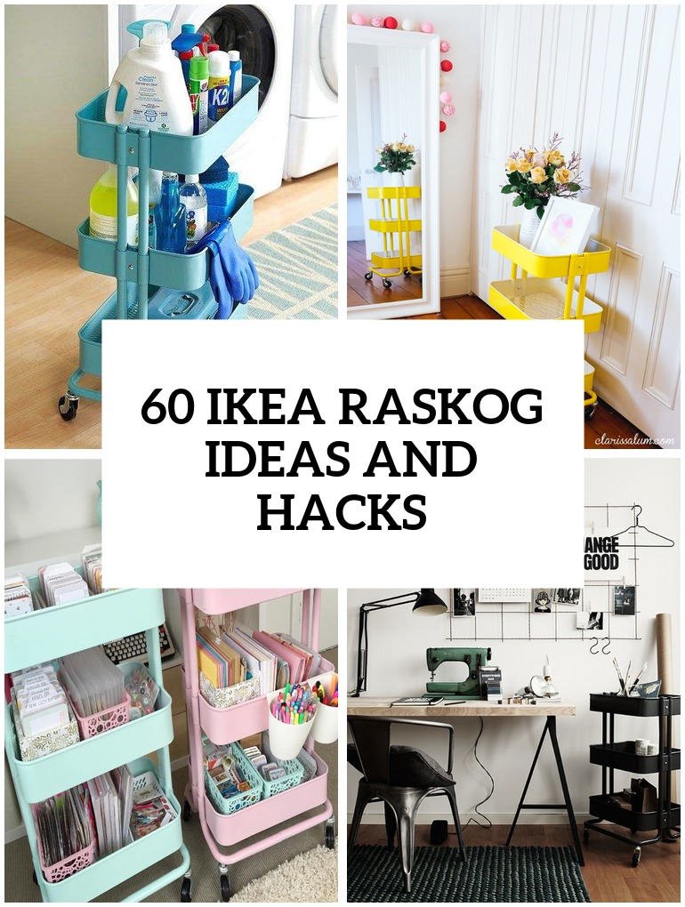 Ikea Raskog Cart Ideas Cover