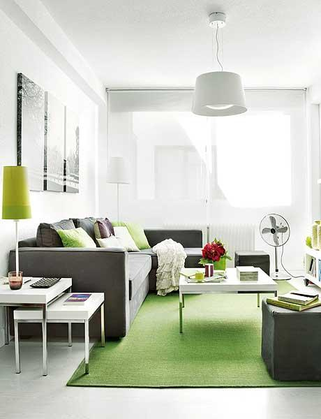 thoughtful interior design of a small 40 square meter