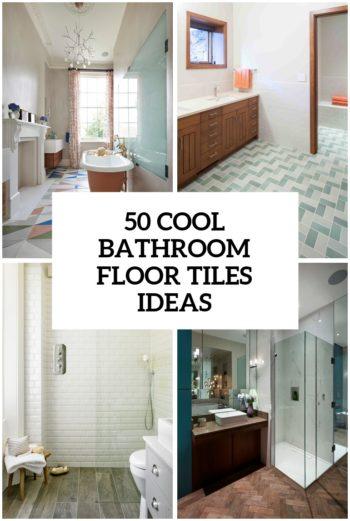 Marvelous 50 Cool Bathroom Floor Tiles Ideas You Should Try Download Free Architecture Designs Oxytwazosbritishbridgeorg