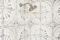 41 patterned cement shower tiles
