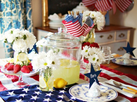 13 Cool Ideas of 4th of July Table Decorations