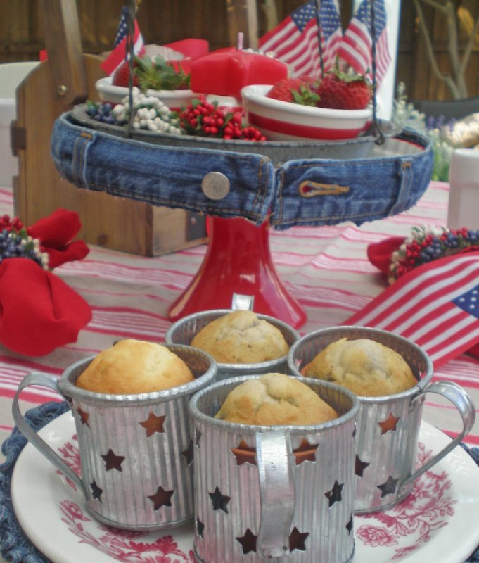 13 cool ideas of 4th july table decorations pictures for 4th of july decoration