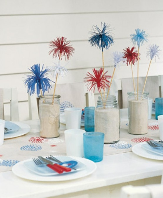 13 cool ideas of 4th of july table decorations digsdigs