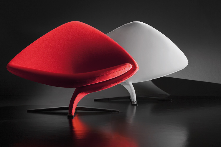 5 cool upholstered swivel chairs by tonon digsdigs - Chaises design italien ...