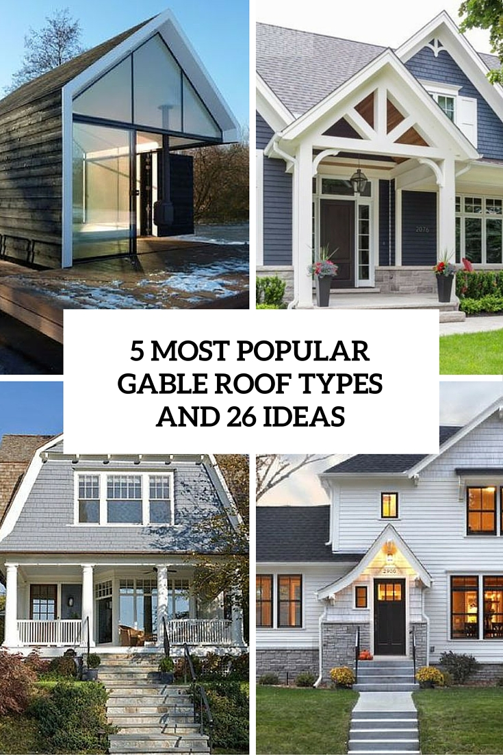 ranch home with hip roof and covered entrance design ideas the house designers 5 most popular gable roof types and 26 ideas cover