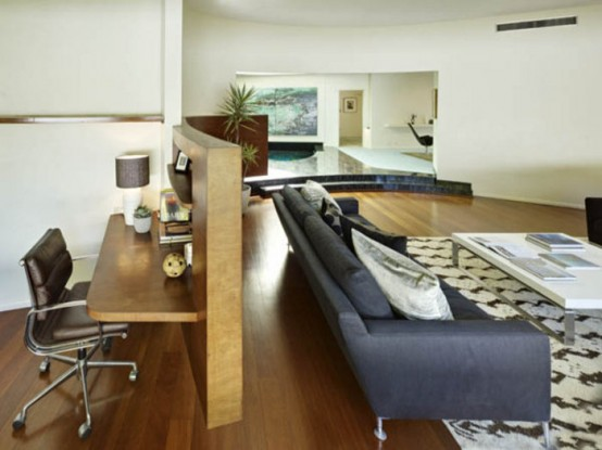 Stylish House Filled With Glamour Of The Sixties