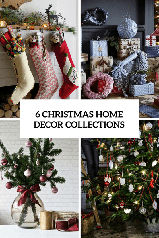 6 Chritmas Home Decor Collections Cover
