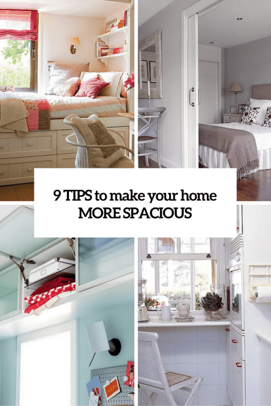 9 Tips To Make Your Small Home More Spacious