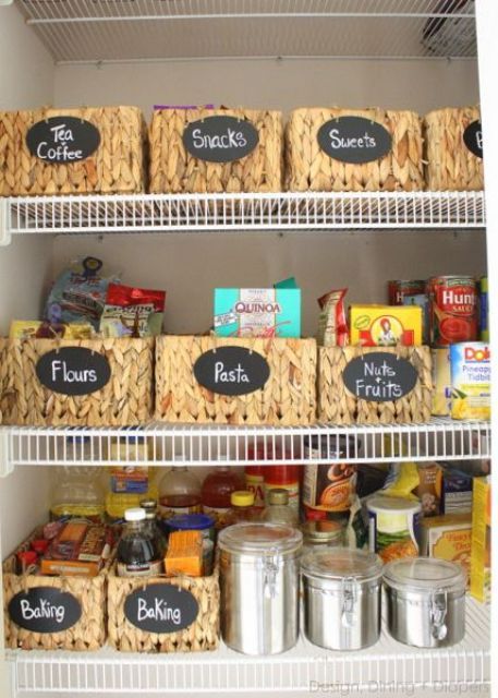 9 Useful Tips To Organize Your Pantry - DigsDigs