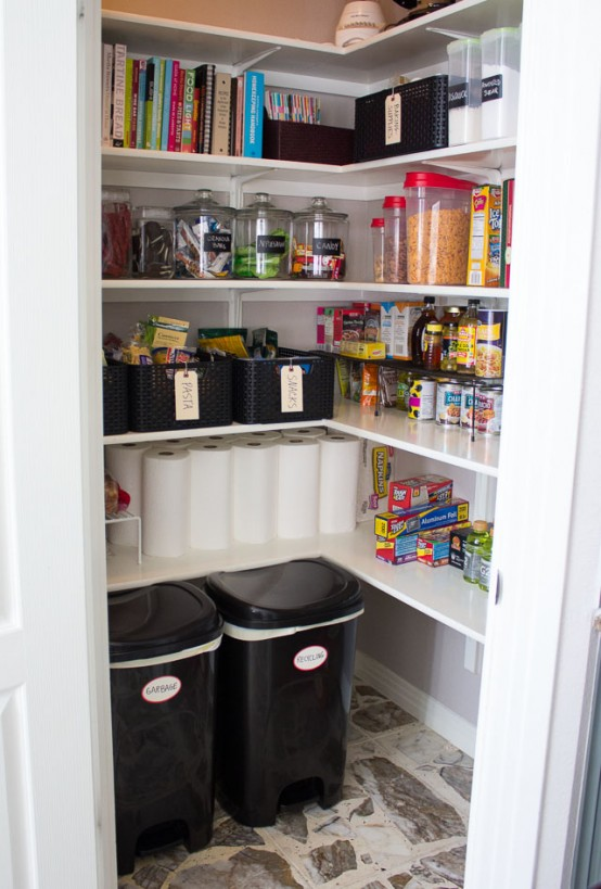9 useful tips to organize your pantry digsdigs for Organization ideas for kitchen pantry