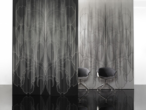 cool black wallpaper. lack and white interior