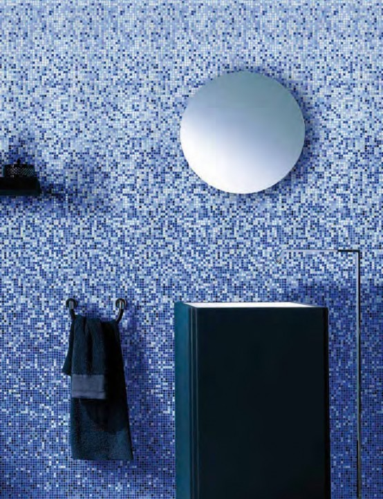 Amazing Colorful Glass Mosaic Tiles Vetrina By Mosaico+