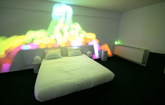 "Amazing Colorful Show In You Bedroom ""Disturb Me"" By The Popcorn Makers"
