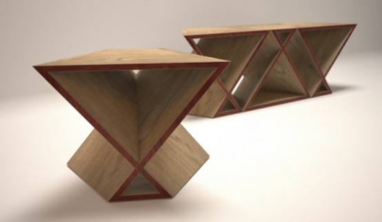 Awesome Flat Pack Table By Tom Fereday