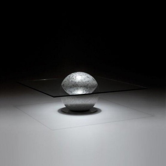 Awesome Mysterious Coffee Table La Lune By Liana Yaroslavsky